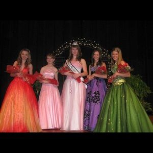 Dresses & Skirts - Pink pageant formal prom gown